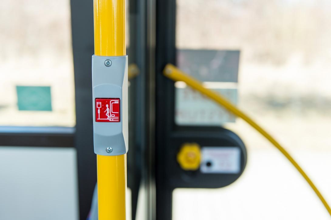Tlačítko pro znamení řidiči