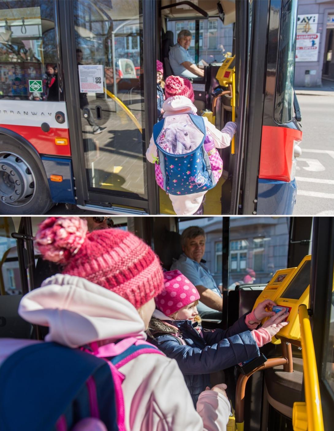 Nástup do autobusu