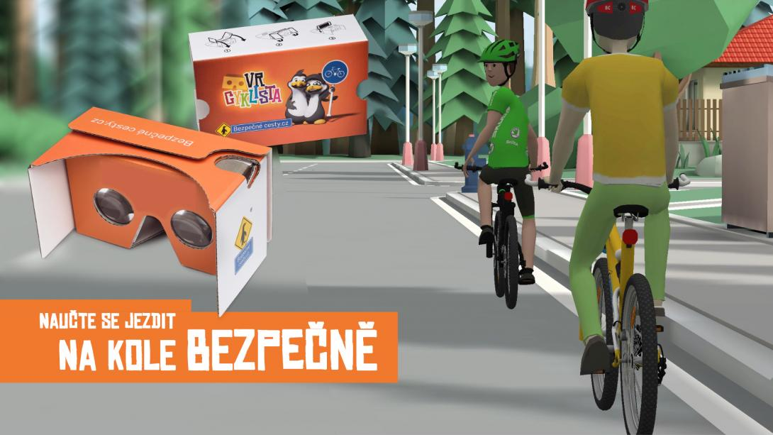 VR cyklista - mobilní aplikace
