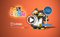 VR cyklista (Cardboard)