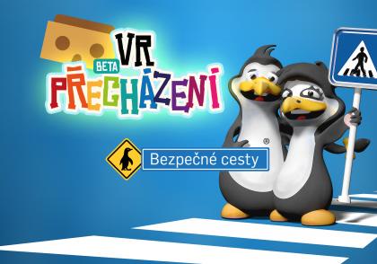 """Vzdělávací aplikace """"VR přecházení"""" děti nadchne"""