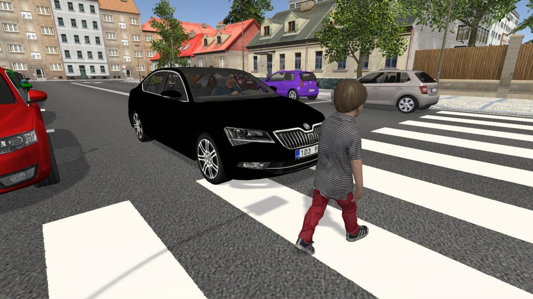 Interaktivní přecházení (3D aplikace) - nehoda