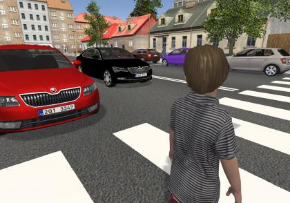 Virtuální přecházení