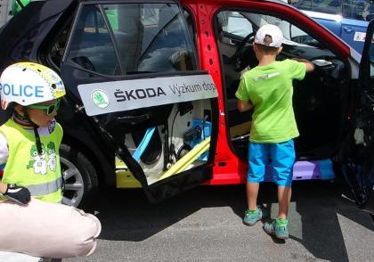 Bezpečnost aut na MS horských kol