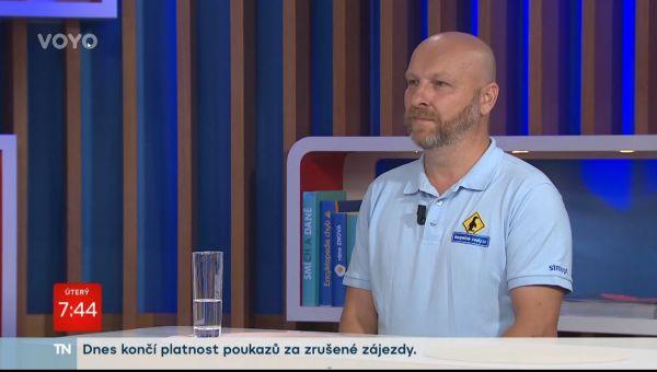 Bezpečné cesty.cz byly pozvány do Snídaně s Novou, aby pomohly rodičům a dětem s bezpečnou cestou do školy