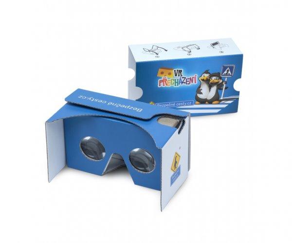 Cardboard VR přecházení