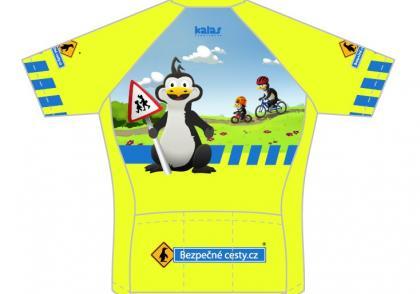 Chcete dětský cyklodres v barvách Bezpečných cest?