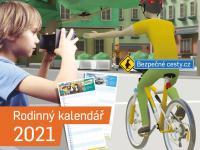 Rodinný kalendář pro rok 2021