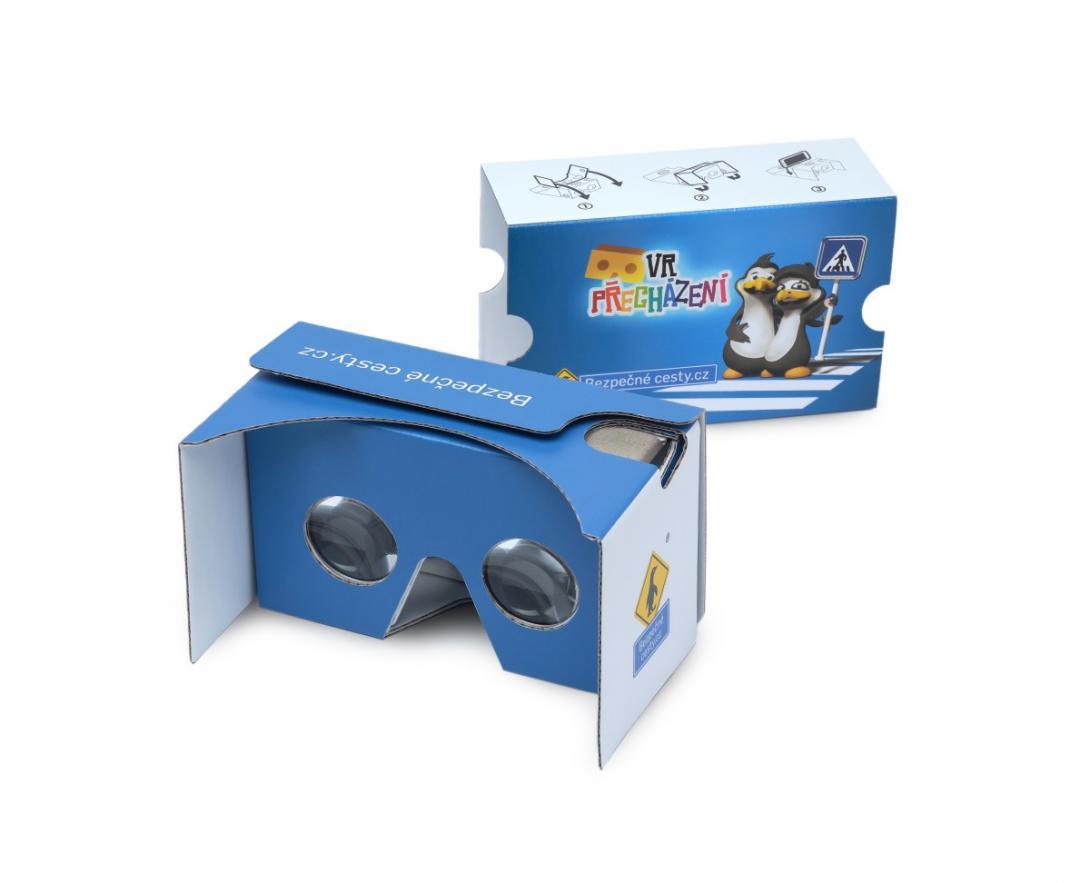 Soutěž o 3D brýle s novou mobilní aplikací VR chodec