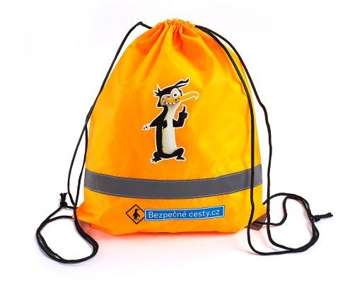 Reflexní batoh oranžový -