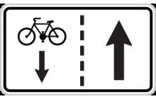 Jízda cyklistů v protisměru