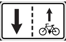 Vjezd cyklistů v protisměru povolen
