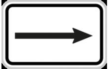 Směrová šipka pro odbočení