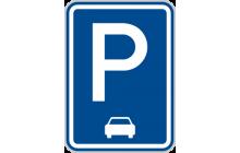 Parkoviště (podélné stání)