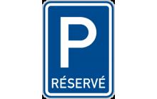 Vyhrazené parkoviště
