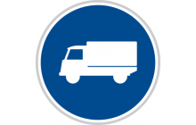 Přikázaný jízdní pruh