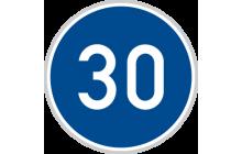 Nejnižší dovolená rychlost