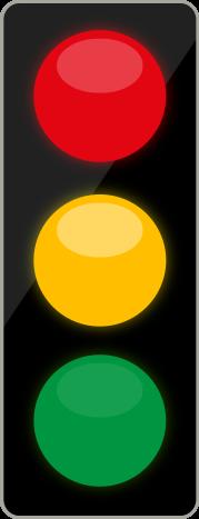 Tříbarevná soustava s plnými signály