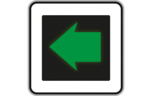 Signál pro opuštění křižovatky