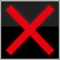 Zakázaný vjezd vozidel do jízdního pruhu