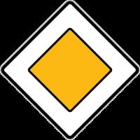Dopravní značka Hlavní silnice