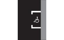 Vyhrazené parkoviště pro vozidlo přepravující osobu těžce postiženou nebo těžce pohybově postiženou
