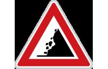 Kamení na vozovce