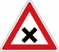 Dopravní značka Křižovatka