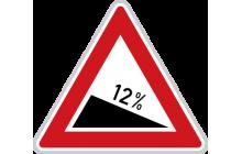 Nebezpečné klesání