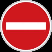 Zákaz vjezdu všech vozidel