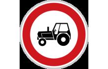 Zákaz vjezdu traktorů